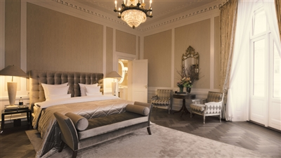 Bedroom Royal Suite