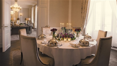 Private Dinner Royal Suite