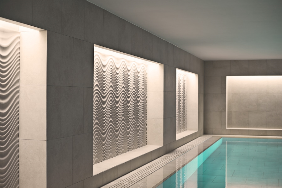 Elegent indoor swimming pool